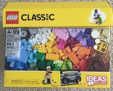 Lego 10702 Classic Creative Building Set 583 Piece New Sealed Ideas Included