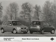 PRESS - FOTO/PHOTO/PICTURE - Nissan Micra 3- en 5-deurs