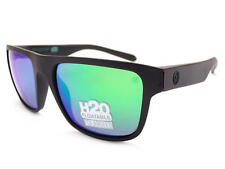 acad84aad6 DRAGON - INFLECTOR H2o Polarized Black Sunglasses  Green Ion Mirror 33246  005