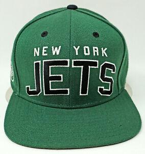 NEW YORK JETS Snapback Hat Ball Cap REEBOK Licensed NFL Adult OSFM