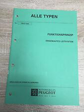 Werkstatthandbuch Peugeot - Alle Typen - Eingebautes Leitsystem Navigation