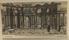 Jean Marot eau-forte originale XVIIè siècle Basilique Romaine