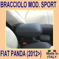 Bracciolo mod. SPORT per FIAT PANDA dal 2012 - poggiabraccio -vedi anche tappeti