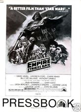 THE EMPIRE STRIKES BACK original 34 page 1980 pressbook