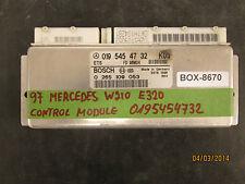 97 MERCEDES W210 E320 TCU/ECU 0195454732