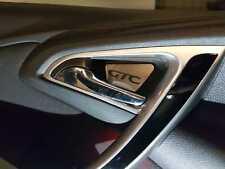 Opel Astra J Poignée de Porte Bassin en acier inoxydable panneau GTC, OPC, ST, GTC Lettrage z089