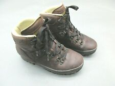 Meindl Size 7 Women's Brown Lace Leather Vibram14597 Hiking/Fishing/Work Boots1B