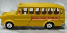 2003 JOHNNY LIGHTNING The Simpsons Springfield Charter Yellow Bus