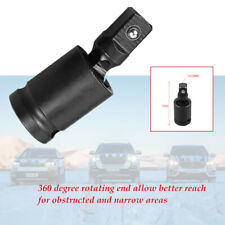 """360 degree rotating end 1/2"""" electric wrench socket interface movable joint"""