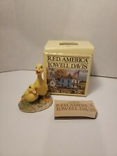 "R.F.D America By Lowell Davis Schmid ""Brothers "" Duck figurine 225286 3 3/4"""
