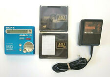 Sony Mz-R70 Md Portable MiniDisc Recorder Player Digital Recording Power Supply