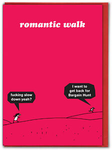 Modern Toss Valentines Cards Funny RUDE Hilarious Humour Cheeky Cartoon Comedy