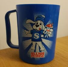 Blue Slush Puppie Cup Plastic Drinks Ice Advertising Beaker Tumbler