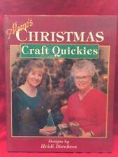 Aleene's Christmas Craft Quickies by Margaret Allen Price, Artis Aleene...