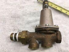 """3/4"""" WATTS REGULATOR WATER PRESSURE REDUCING VALVE 25AUB 25-75 lbs"""