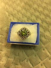 Lovely 14k GF Peridot  Ring, size 16