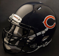 ***CUSTOM*** CHICAGO BEARS NFL Riddell Full Size SPEED Football Helmet