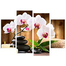 Modern Flower Canvas Oil Painting Picture Print Wall Art Home Living Room Decor