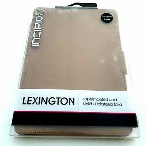 Incipio Lexington Sophisticated Kickstand Folio Case for iPad Air Brown/Pink