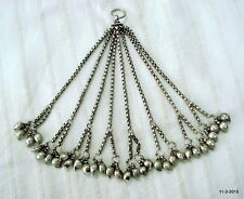 pendant mango beads necklace vintage antique tribal old silver