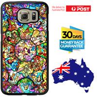 Galaxy S9 S9 Plus S8 S7 S6 Edge S5 Case Disney Princess Bumper Cover For Samsung