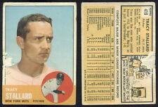 (29818) 1963 Topps 419 Tracy Stallard Mets-PR