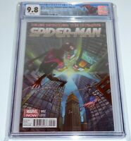 Miles Morales: Ultimate Spider-Man #2 Variant Edition CGC 9.8 Graded Comic Book