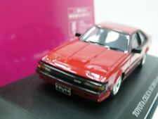 WOW EXTREMELY RARE Toyota 1985 Celica XX 2000 G Turbo RHD Red 1:43 Aoshima-DISM