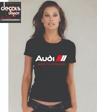 Custom Shirt for AUDI Car Owners Q5, Q7, A7, A3,  A4, A5, A6,  S3, S4 etc