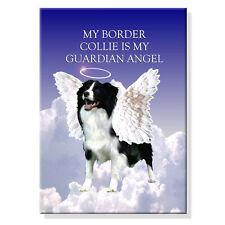 Border Collie Guardian Angel Fridge Magnet No 1 Dog
