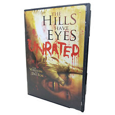The Hills Have Eyes Unrated Widescreen DVD R1 (2006) Very Good Condition TESTED
