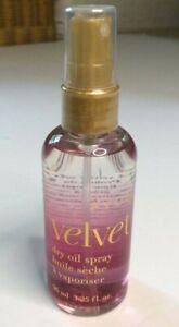 AVON * Velvet * Dry Oil Spray * Women's * 3.25 oz / 96ml