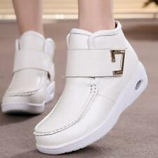 Hospital Winter Womens Leather Nurse Work Boots Casual Fashion hot Nursing Shoes