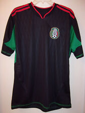 Unbranded Replica Mexico 2010-11 Away Soccer Shirt — Size L-XL (46 equivalent)