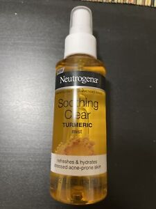 Neutrogena Soothing Clear Calming Facial Mist Spray with Turmeric
