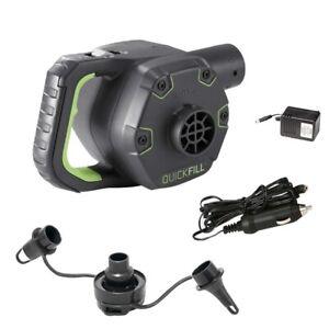Pompa ricaricabile Intex 66642 gonfia sgonfia portatile batteria materassi Rotex