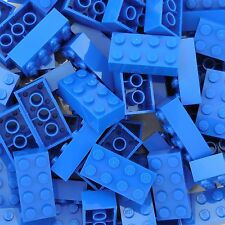 50 New Lego 3001 2x4 Blue Bricks Star Wars, Mine Craft, Friends, City, Disney