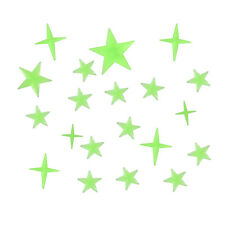 Glow In The Dark Stick On Self Adhesive Decorations For Kids Bedroom - Stars