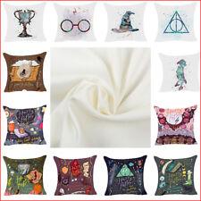 Cartoon Harry Potter Soft Polyester Sofa Pillow Throw Cushion Cover Pillow Case