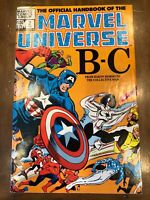 Marvel Comics Official Handbook of Marvel Universe Vol. 1 Issues #2-5 (1983) HQ