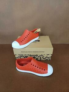 Native Shoes, Jefferson Child,   Sneaker, Torch Red/Shell White, 12Med