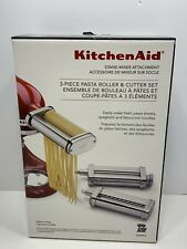 KitchenAid 3-Piece Pasta Roller & Cutter Stand Mixer Attachments Set, Brand NEW!