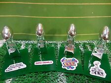 Green Bay Packers Mini Lombardi Trophy Set Mcfarlane/Pocket Pro