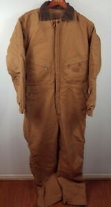 C.E. Schmidt Workwear Insulated Coverall Size Large TALL Men's 44-46 brown