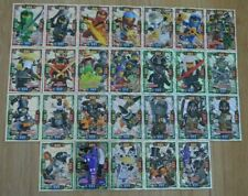 Lego ninjago™ Series 4 Trading Card Game All 26 Holofoil Holo Cards Complete