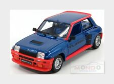 Renault R5 Turbo 1982 Blue Red BURAGO 1:24 BU21088BL