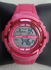Ladies Armitron Hot Pink Digital Watch 45/7045 A2