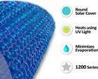 🔵 Solar Cover ROUND Blanket Heater Large Swimming Easy Frame Heat Pools