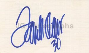 Terrell Davis - NFL Pro Football Hall of Fame - Signed 3x5 Card