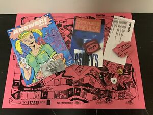 ANSWER ME!  ISSUE 4 Chocolate ImPulse W Game JIM GOAD BOYD RICE Peter Sotos
